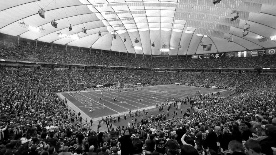 The last game at the Metrodome was played by the Vikings against the Detroit Lions on Sunday, December 29. The building will soon be demolished.
